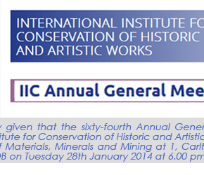 IIC Annual General Meeting 2014