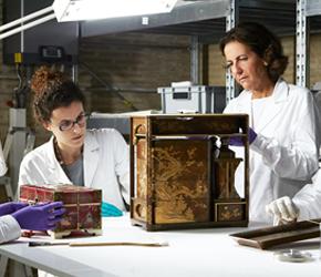 Internship at laboratory of Vatican Museum
